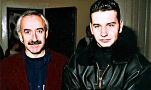 Automobilisti Milun i Milovan Vesnić, otac i sin