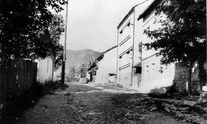 Maslaćeva ulica , sokakak koji je prerastao u ulicu. Ovako je izgledala tokom 60 - tih godina 20. veka