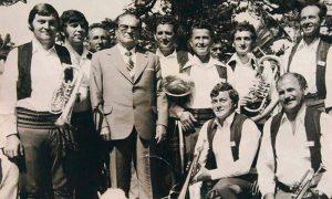 Najpoznatiji stanovnik Krvavaca sa predsednikom Titom