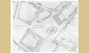Ulica Toplička na planu iz 1891.