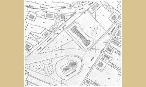 Ulica Trojička na planu iz 1934.