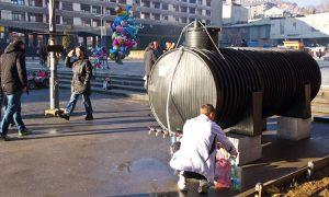 Užičani čekaju vodu iz cisterni