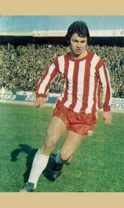 Srba Stamenković u najboljem delu svoje fudbalske karijere