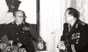 Tito i Nikola Ljubičić 1971. godine