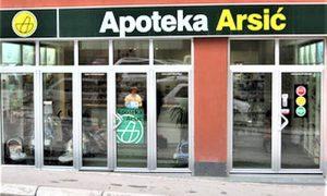 Četvrta Arsić apoteka u ulici Mage Magazinović