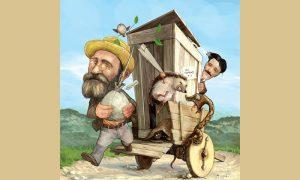 Ilustracija iz Politikinog Zabavnika