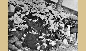Škola u vreme Užičke republike (foto Muzej revolucije naroda Jugoslavije)