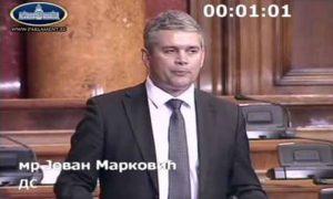 Jovan Marković poslanik u Skupštini Srbije