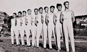 Jehličkini najbolji gimnastičari pedesetih godina 20. veka