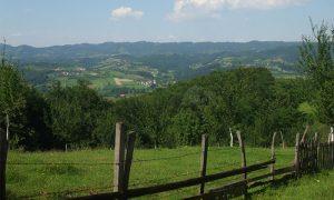 Pogled na Lužničku dolinu sa Metaljke