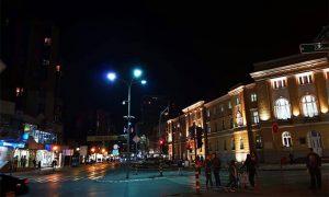 Gradska kuća noću (foto A. Vesnić)