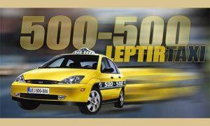 Reklamna fotografija za Leptir taksi