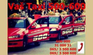 Reklamna fotografija za 500 600 taksi
