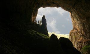 Potpećka pećina, pogled ka izlazu (foto Turistička organizacija Užica)