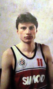 Mladi Miško Marić na početku karijere