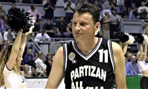 Marić na kraju karijere 1986. u Partizanu