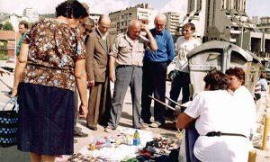 Buvljak u Međaju 1994. godine