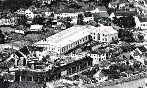 Proširena Tkačnica 1924. godine sa Ledarom i strugarom