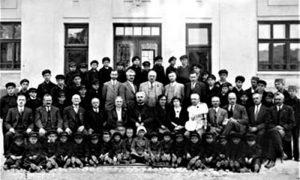 Osvećenje doma na dan Sv. Jovana Milostivog 25. novembra 1929.godine