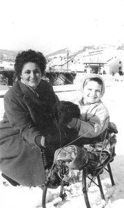 Zimska idila na keju, 1962.