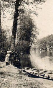 Jezerce u Velikom parku pre Drugog svetskog rata