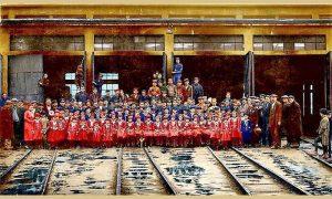 """Deca iz Doma za siročad slikala se sa svojim dobrotvorima """"Garavcima"""" u Ložionici"""