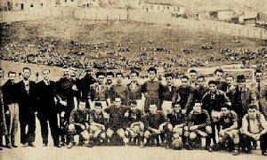 Fudbaleri Slobode i Partizana u Titovom Užicu 24. septembra 1946. godine
