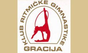 "Logo Kluba ritmičke gimnastike ""Gracija"""