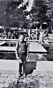 Nekadašnja fontana u Malom parku