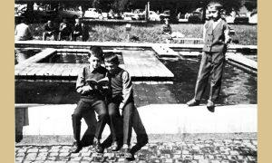 Nekadašnja fontana u Malom parku omiljeno mesto dečije igre
