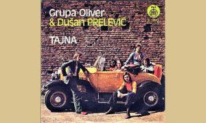 """Rista na omotu ploče grupe """"Oliver"""" na mestu vozača"""