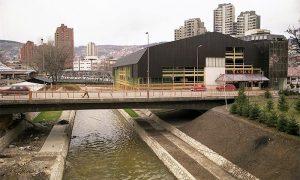 Radovi na uređenju korita Đetinje do starog železničkog mosta