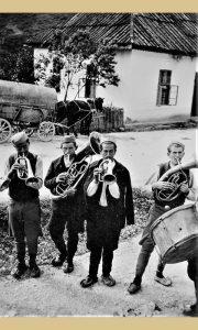 Trubači u Užicu krajem tridesetih godina 20. veka