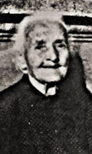 Angelina Ilić 1973. godine, u vreme kad je napunila 100 godina