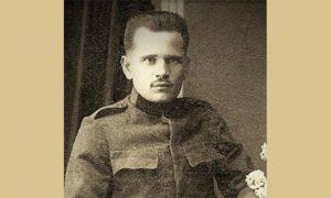 """Vitomir Kovačević je otvorio prvu užičku poslastičarnicu """"Zdravljak"""", snimak iz 1918. godine"""