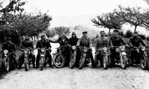 Užički motoristi, druga polovina pedesetih godina, Šmaka u sredini