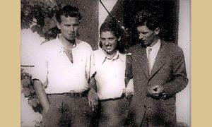 Pinja sa braćom Sretenom i Slobodanom