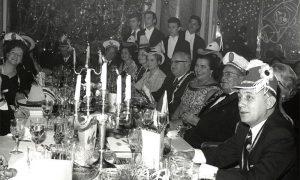 Tito sa svojim bliskim saradnicima i prijateljima