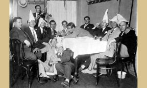 """Na dočeku Nove godine u kafani """"Pariz"""" 1949."""