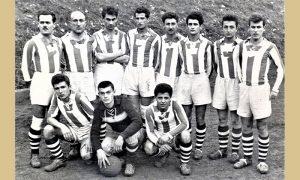 FK Prvi Partizan: Stoje Tricko, Mladjo Kazandzija, Vasović, Dejo Zilić, Luka Cirnjanić, Sone, Salevic, Tomo itd
