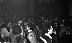 U Omladinskom klubu u podrumu pozorišta