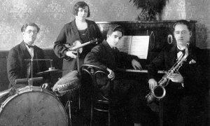 """Jedna od predratnih muzičkih kapela u starom Hotelu """"Zlatibor"""""""