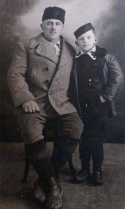 Miodrag Mršević i njegov prvenac, sin Petar