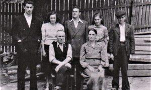 Porodica Vasovića 1944. godine