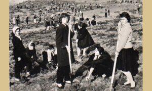 Gorani na Šarganu 1961.god.