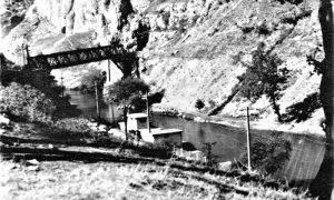 Kupalište na Đetinji pre izgradnje plaže