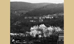 Eksplozija kad je rušena Sokolana