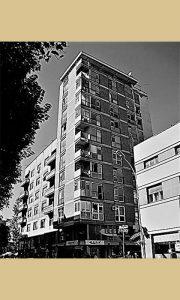 """Jedan od prvih sagrađenih soliter """"Varteks"""" - bolnička"""