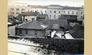 Rušenje je počelo od kuće Slavka Vukosavljevića
