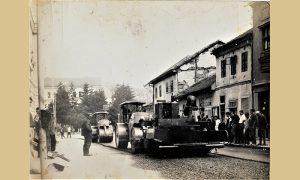 Glavna ulica je asfaltirana 1970, a Užičani organizovani preko mesnih zajednica su skidali kocku